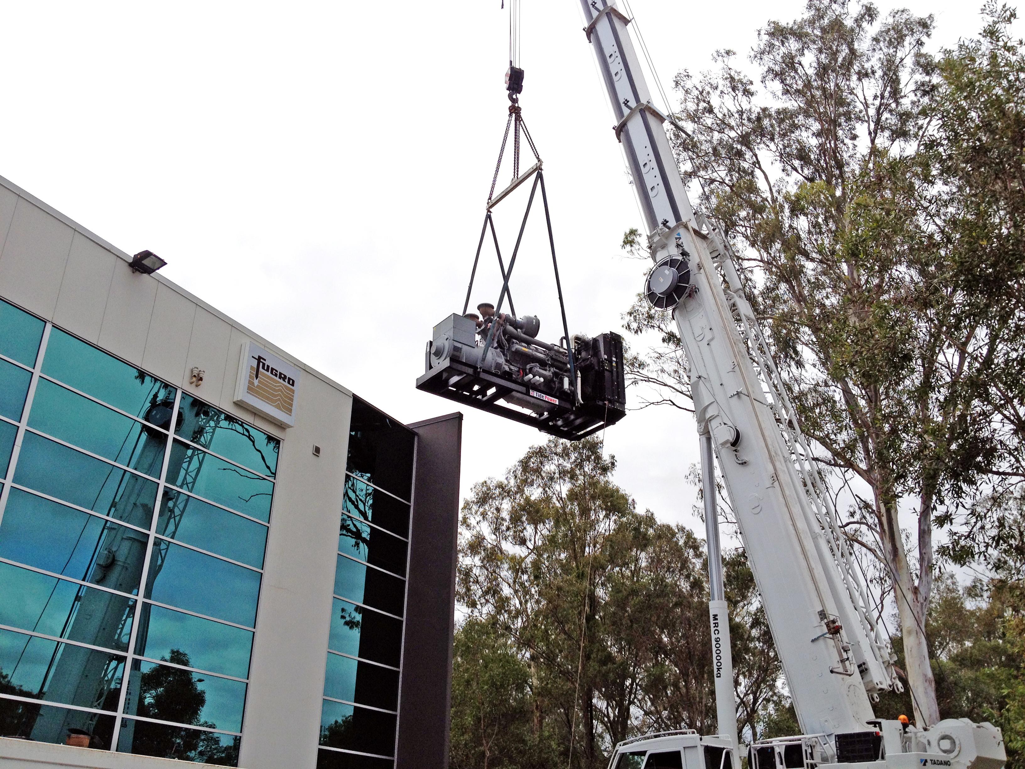 澳大利亚 数据 中心 TPE1500 installer les photos 027